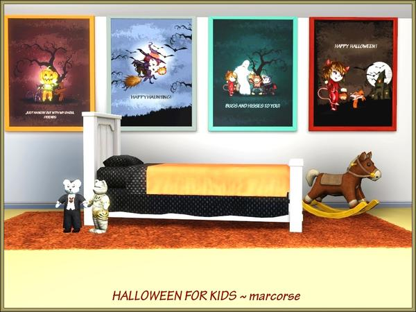 Halloween For Kids by Marcorse