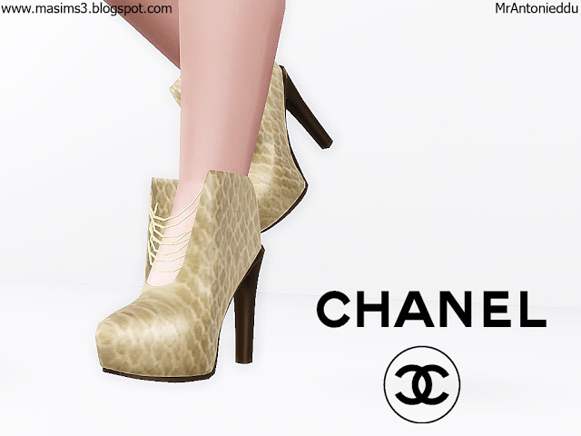 Chanel 3D Boots by MrAntonieddu