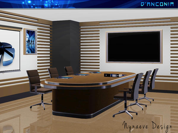 dAnconia Board Meeting Room by NynaeveDesign