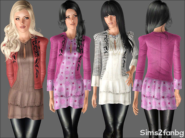 365 - Autumn set by Sims2fanbg