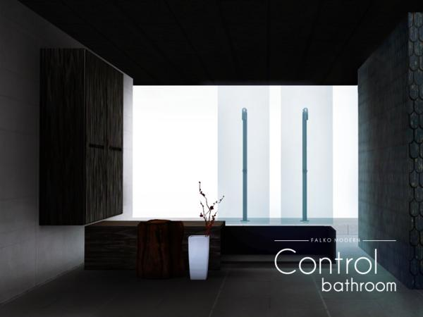 Control bathroom by Falko