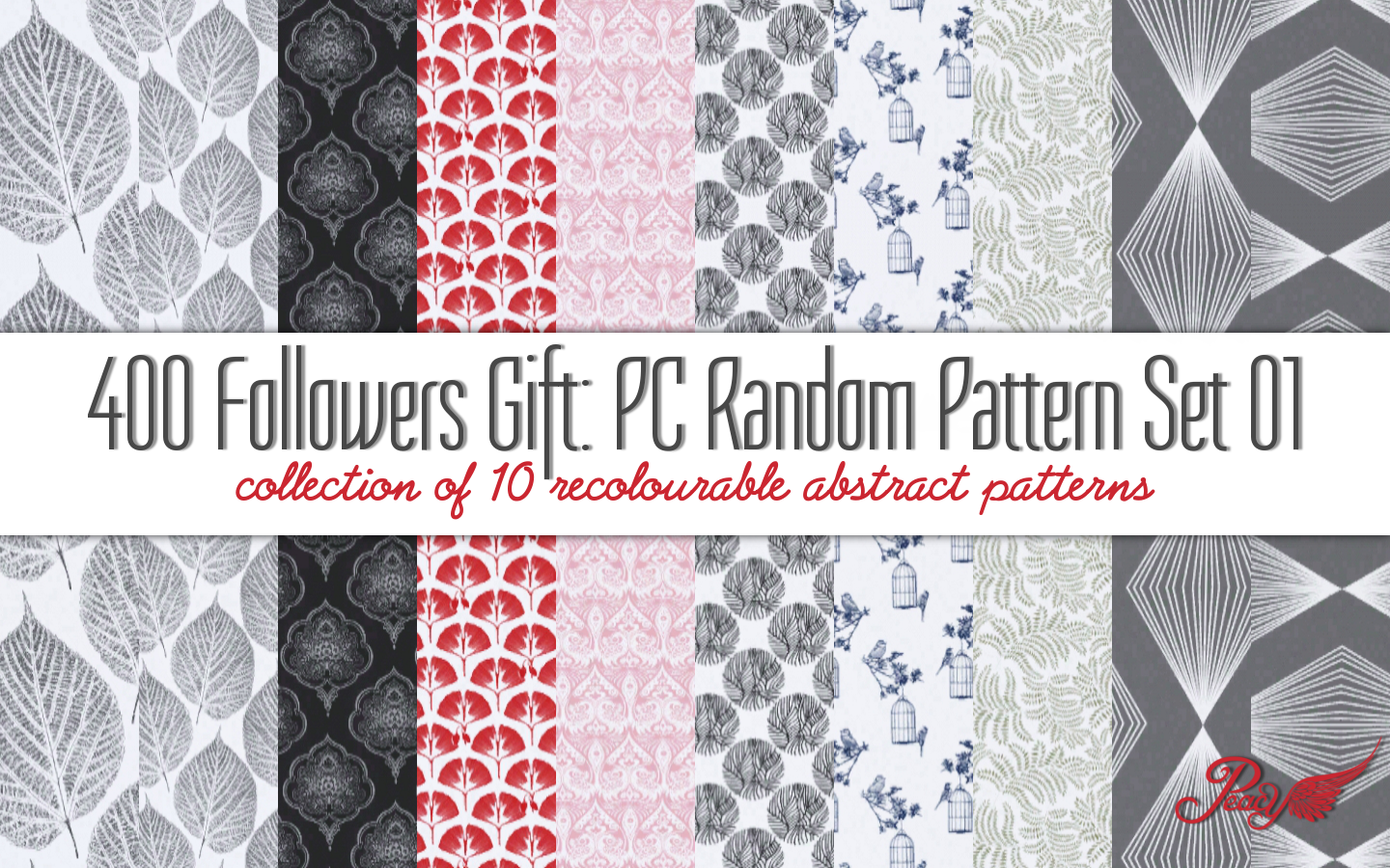 Random Pattern Pack 01 by Peacemaker ic