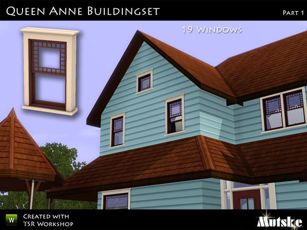 Queen Anne Buildset Part 1 by Mutske
