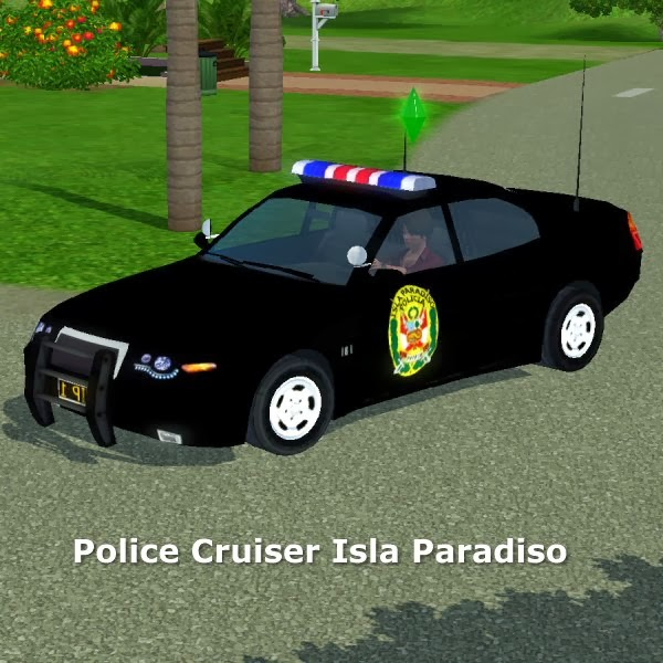Police cruiser Isla Paradiso by CFP