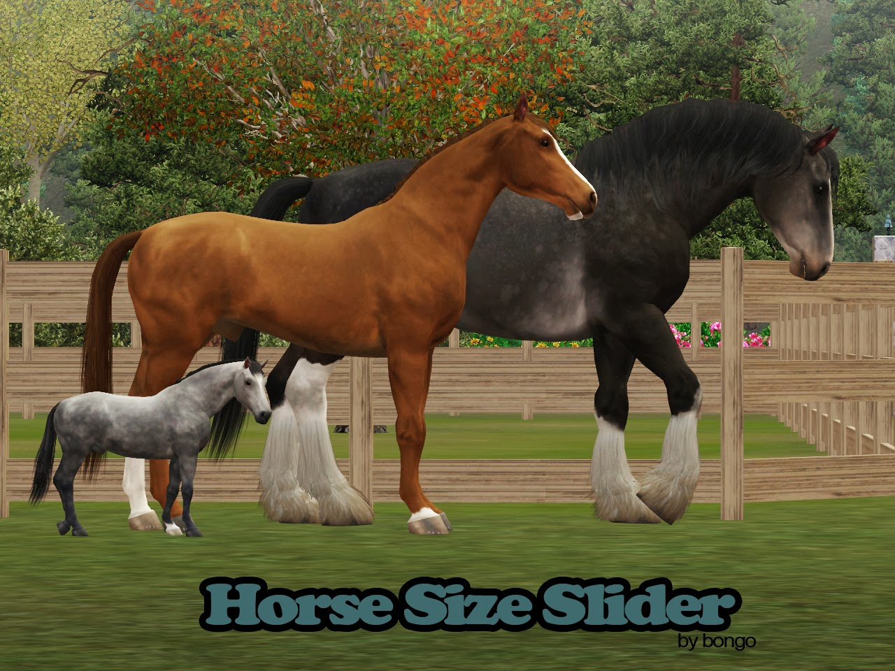 Horse Size Sliders by Bongomazing