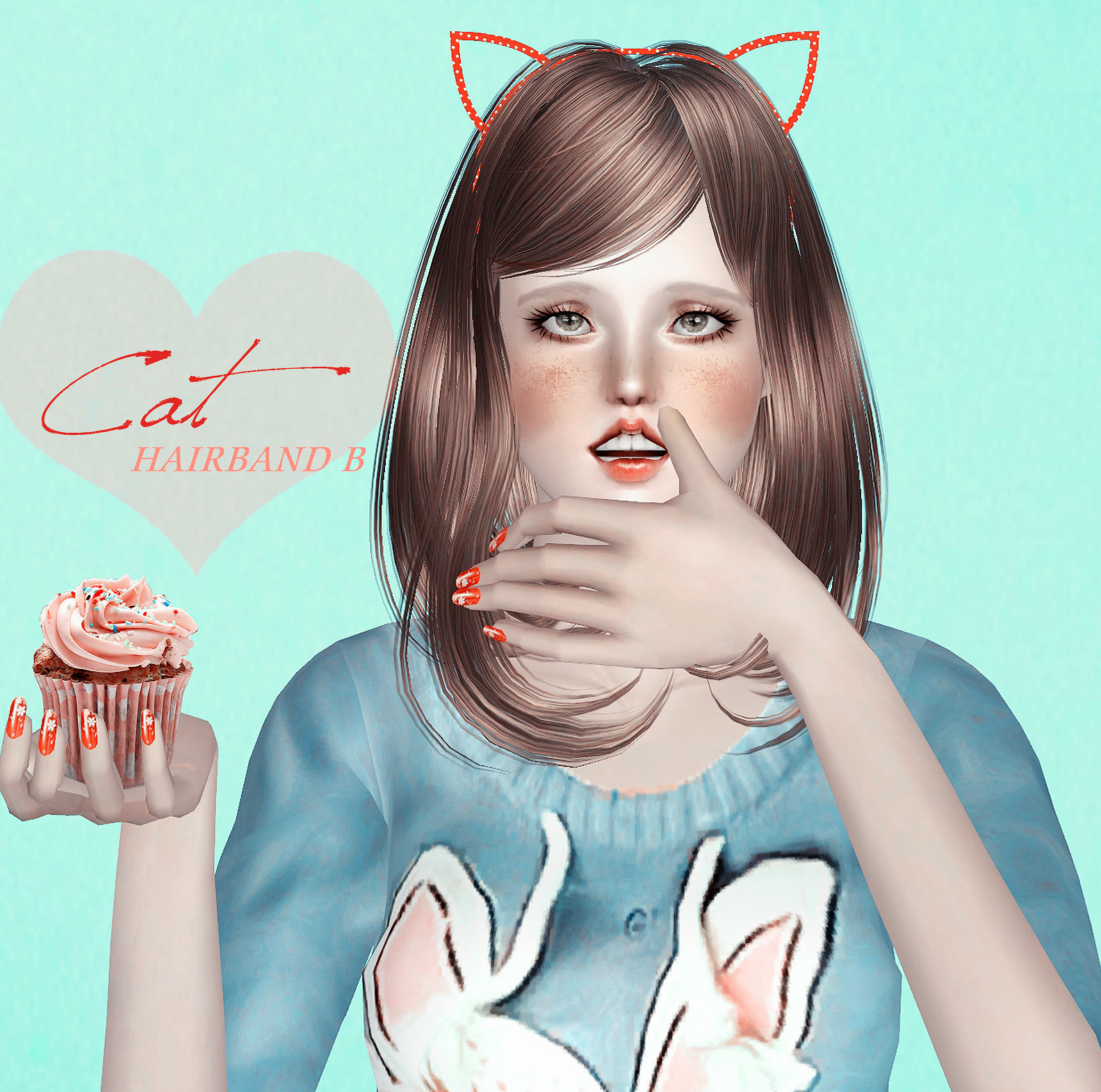 Cat Ears Hairband by S-Club