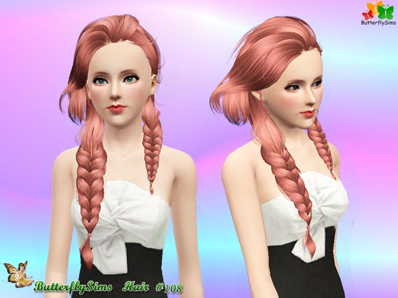 Hairstyle 108 by ButterflySims