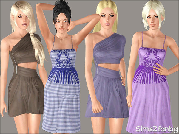 366 - Dresses set by sims2fanbg