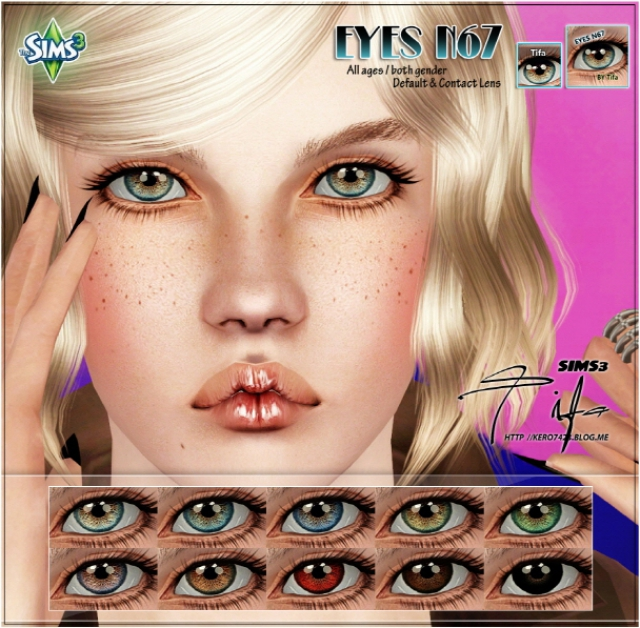 Eyes N67 by Tifa