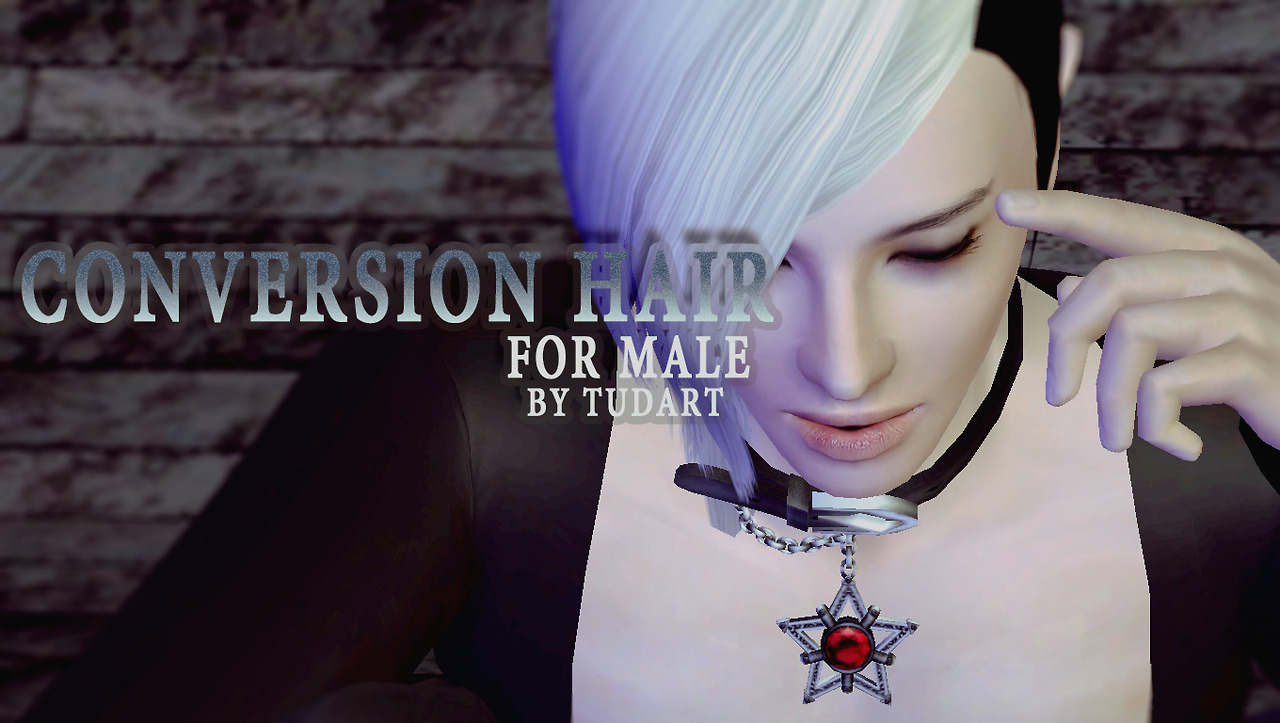Conversion Hair- For Male- by TUDART