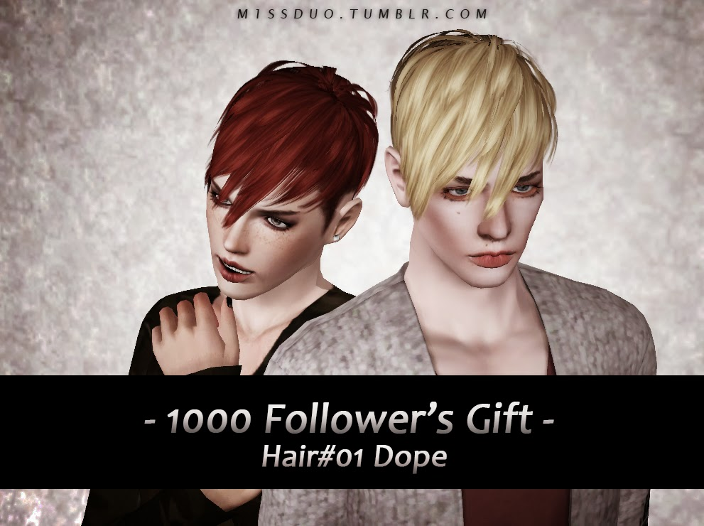 Dope Hair for Males & Females by M1ssduo