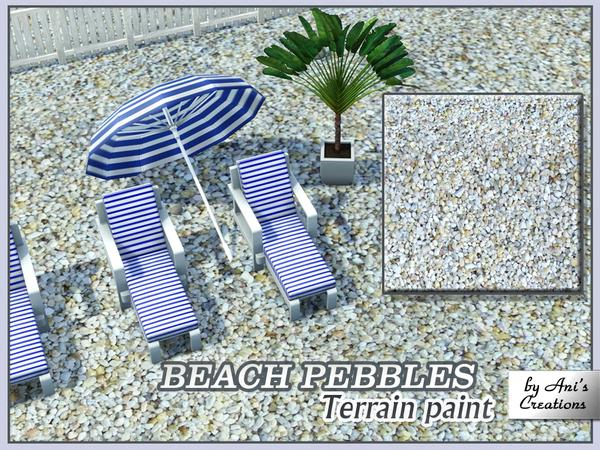Beach pebbles terrain paint by Ani's Creations