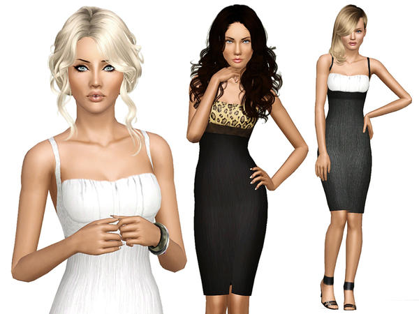 Sophisticated Lady Dress by Ms Blue
