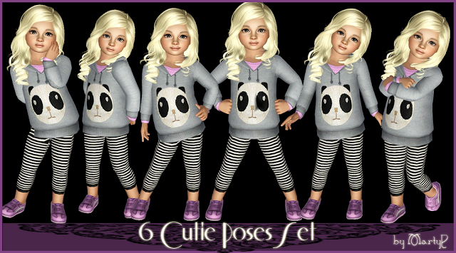 6 Cutie Poses Set