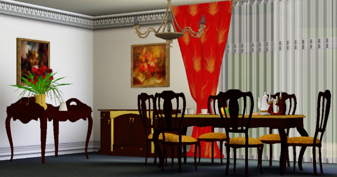 Dining room by Clio