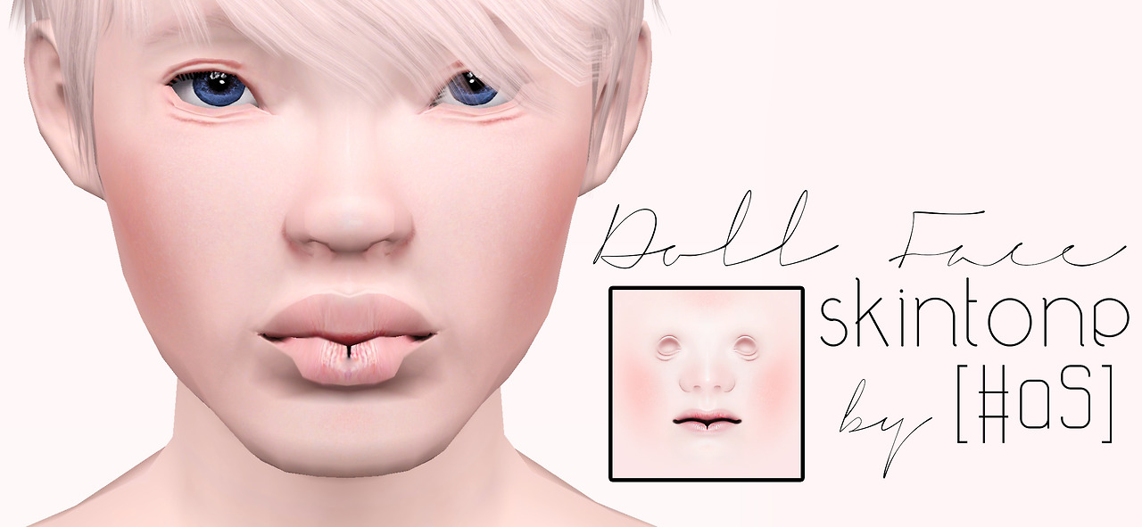 Doll Face Skintone by Asksims