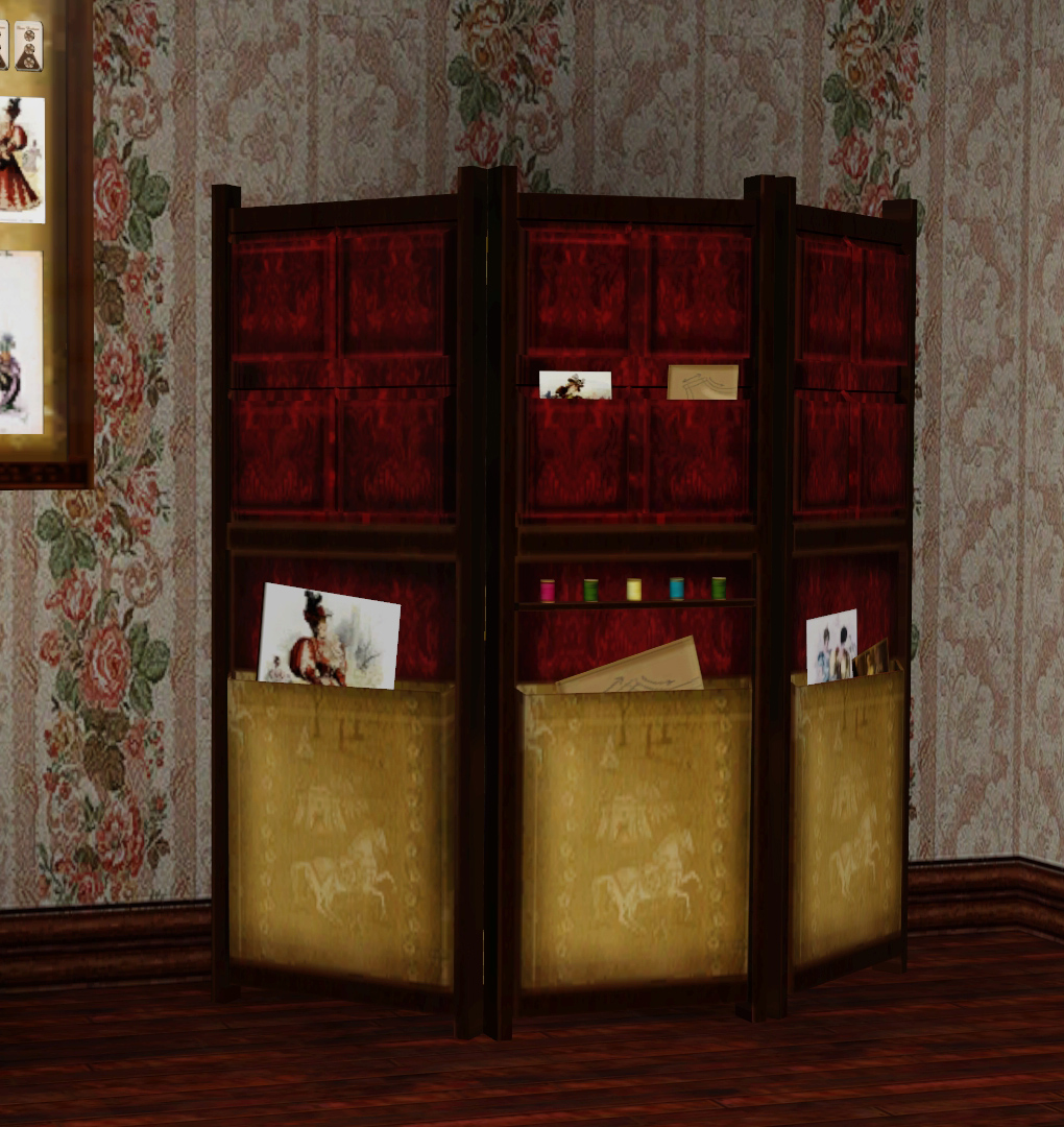 Victorian Sewing Room by Ladesire