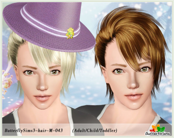 M-hair043 by butterflysims