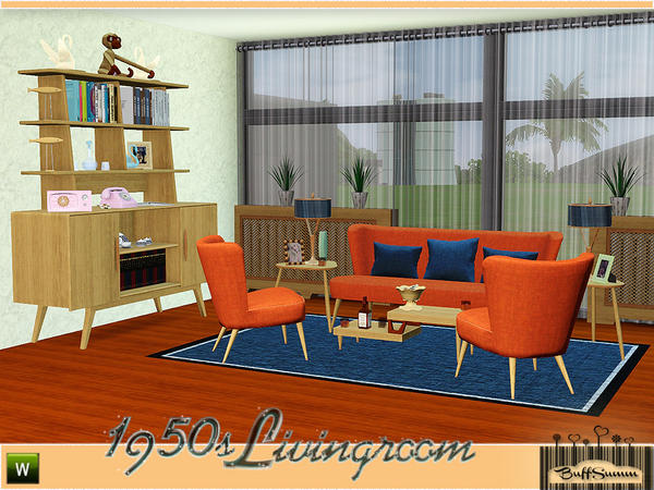 1950s Livingroom Pt. 1 by BuffSumm