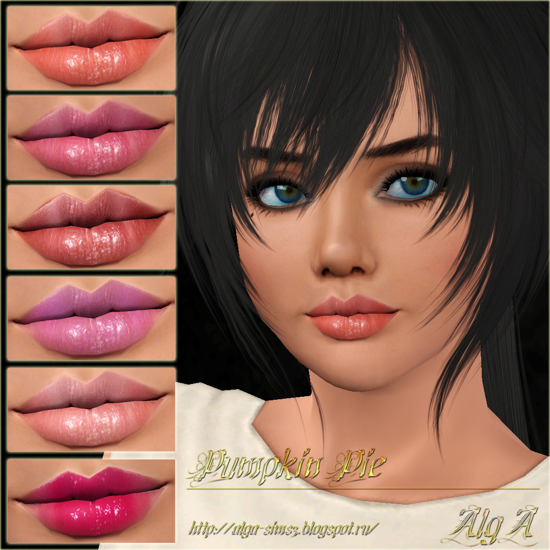 Pumpkin Pie Lipgloss by AlgA