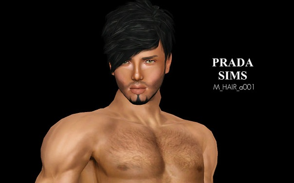 Male Hair a001 by Justin_58
