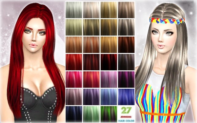 Hair Color Palet by Jennisims