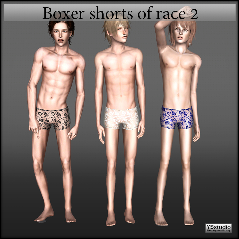 Boxer shorts of race 2 by YSstudio