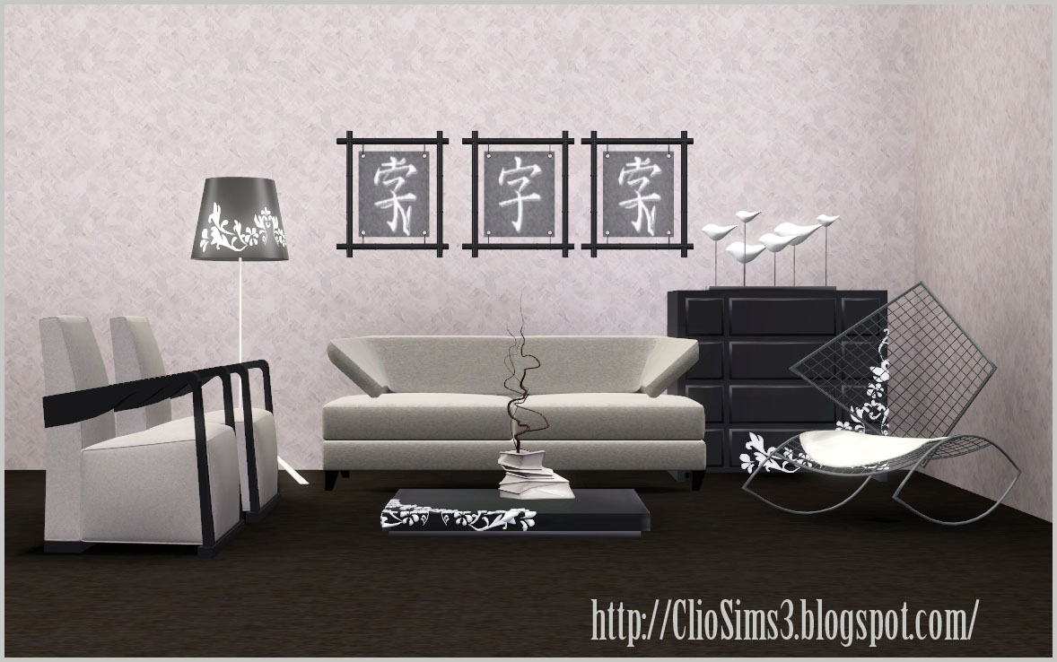 Modern chinese living room by Clio