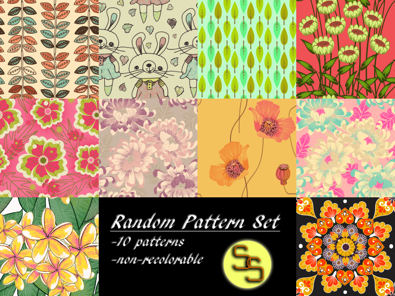 New Patterns by Simminglysimple