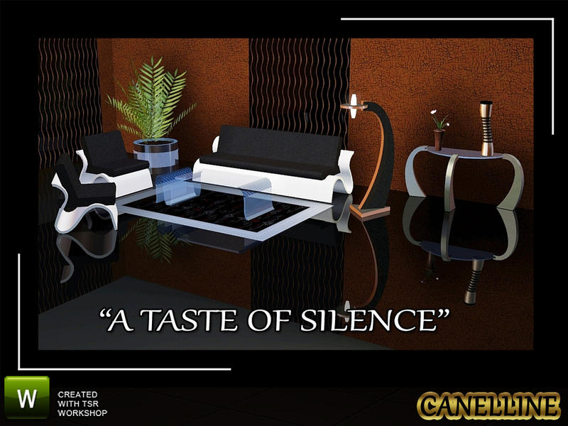 A Taste Of Silence - Modern Living Room by Canelline