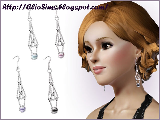 Goodnight kiss earrings by Clio