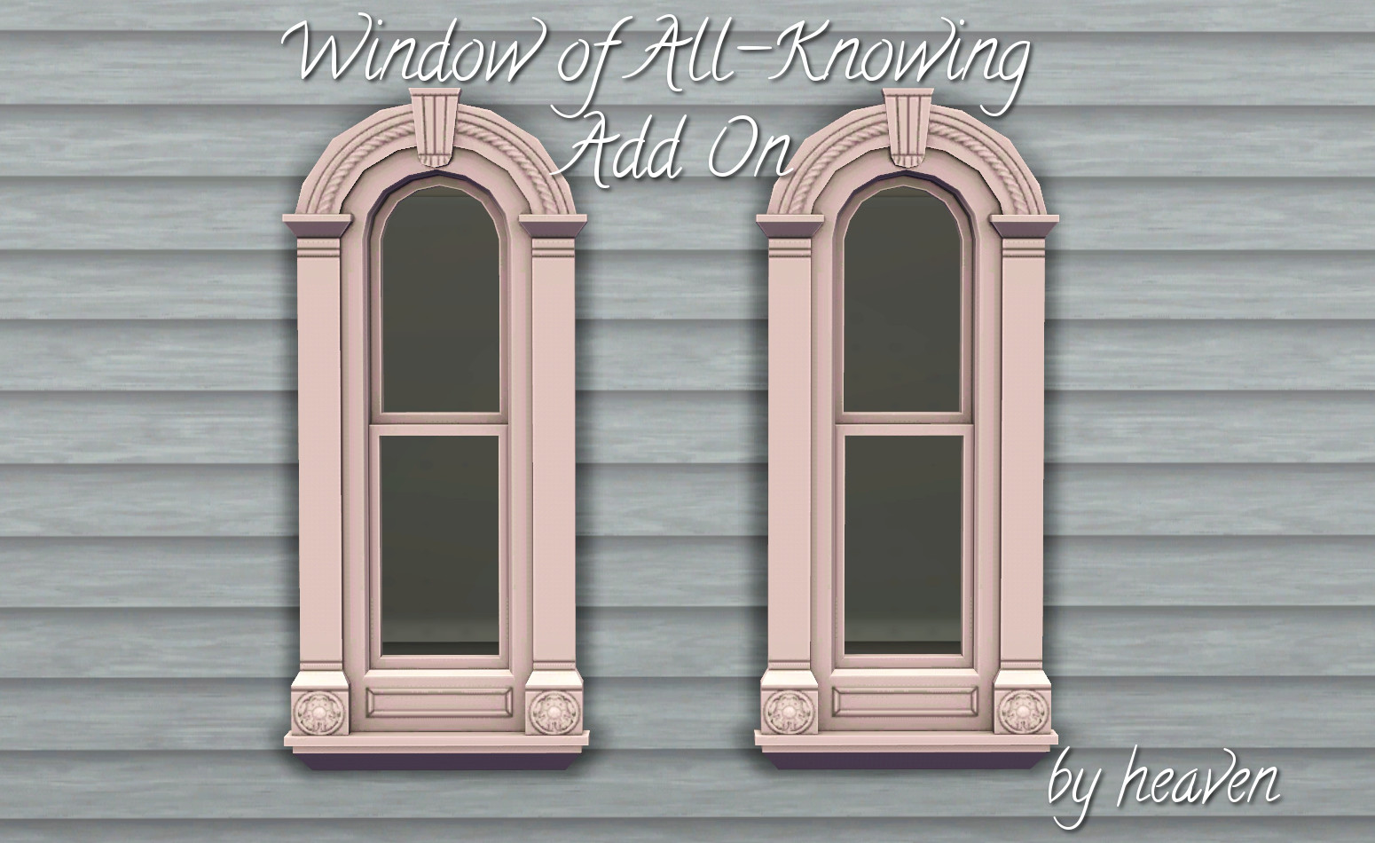Victorian Window Add-On - EA Match by heaven