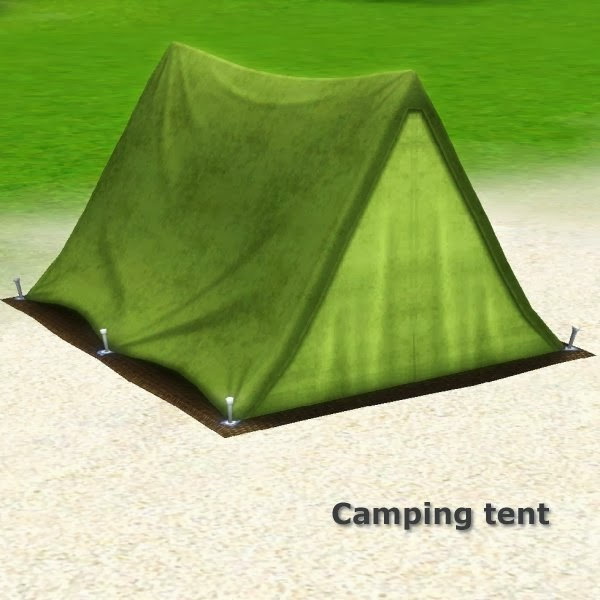 Camping tent by CFP