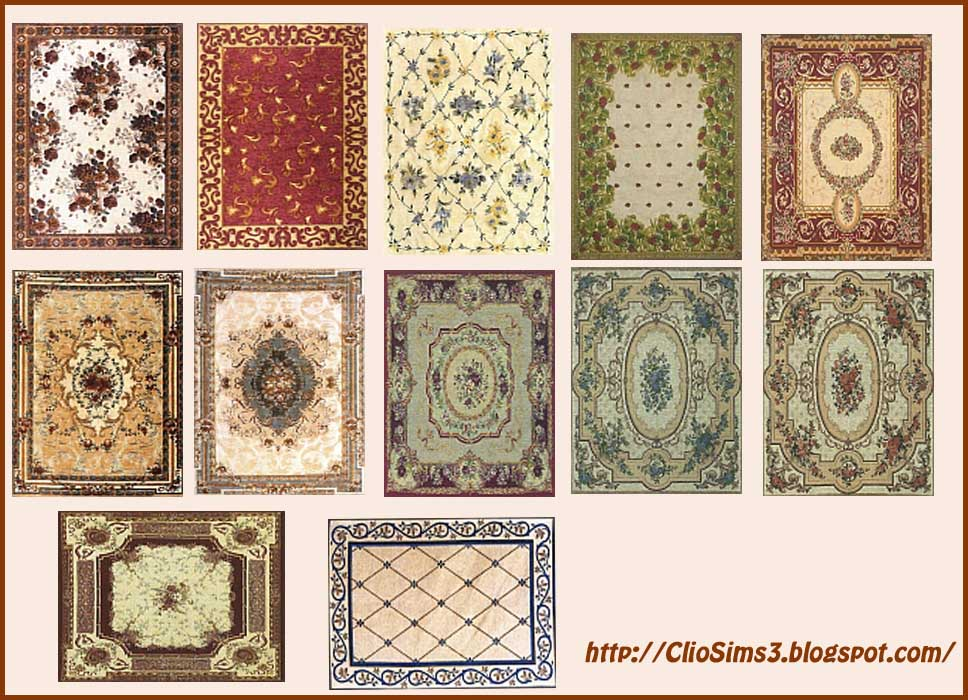 Rugs - set 2 by Clio