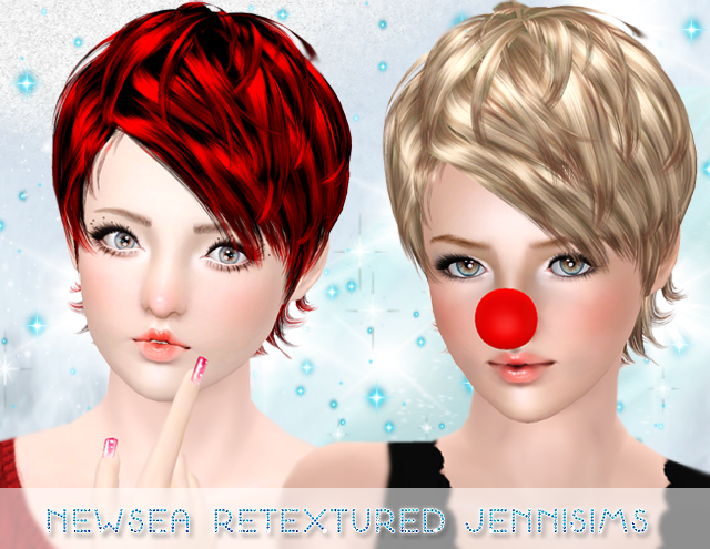 Newsea heartquake Hair retextured Male/Female All ages by Jennisims
