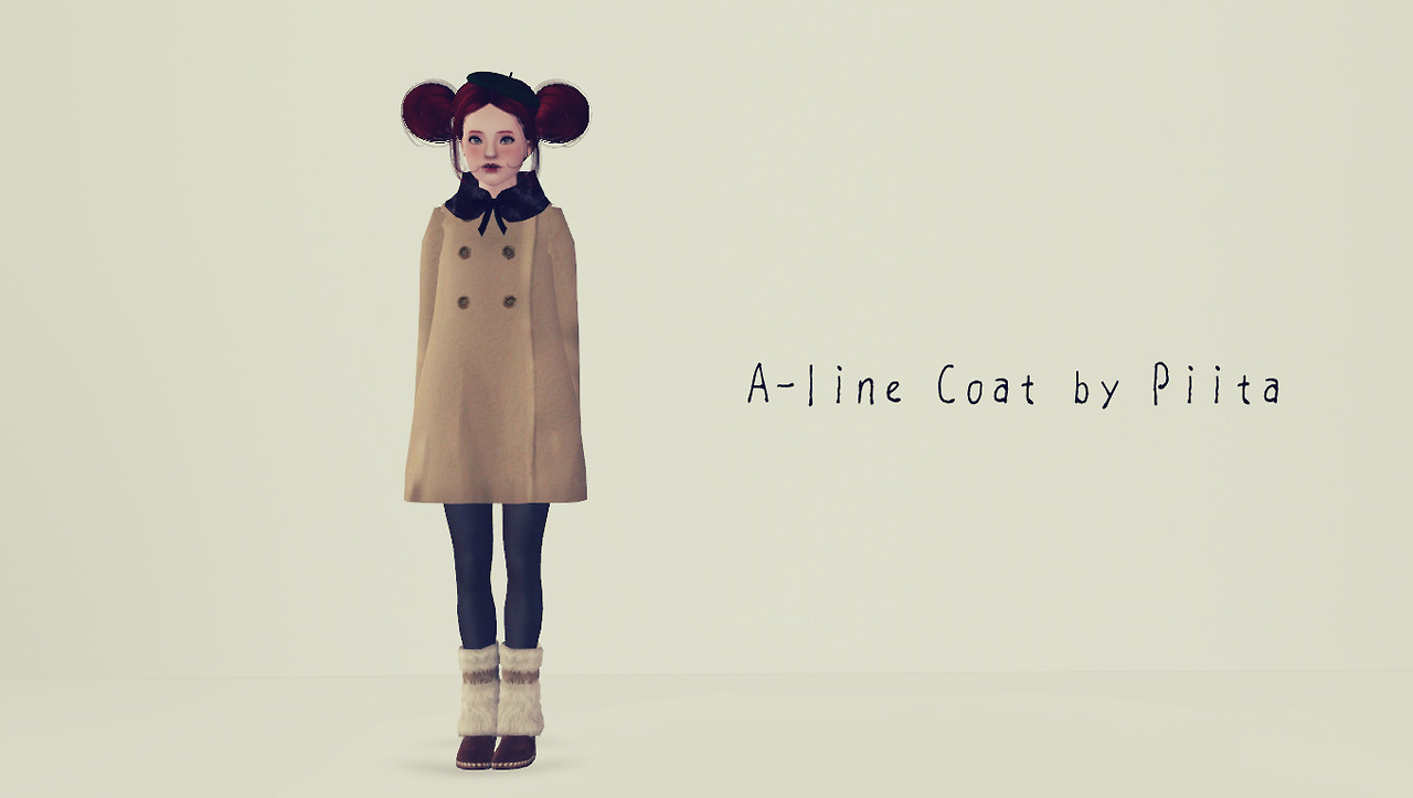 A-line Coat by Piita