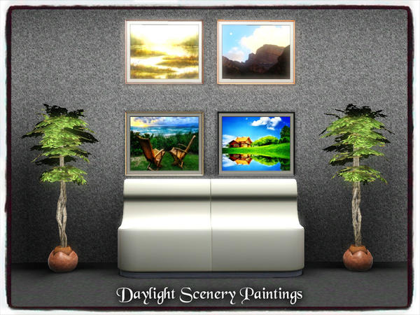 Daylight Scenery Paintings by dowdell626