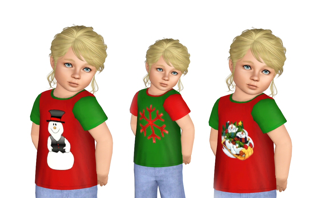 Christmas t-shirts for your tots by Blinding Echoes