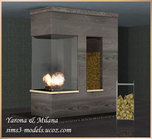 Fireplace Set by Yarona & Milana