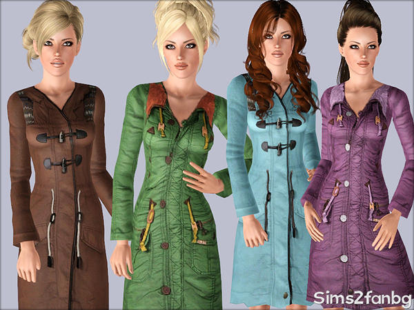 374 - Winter coats by sims2fanbg