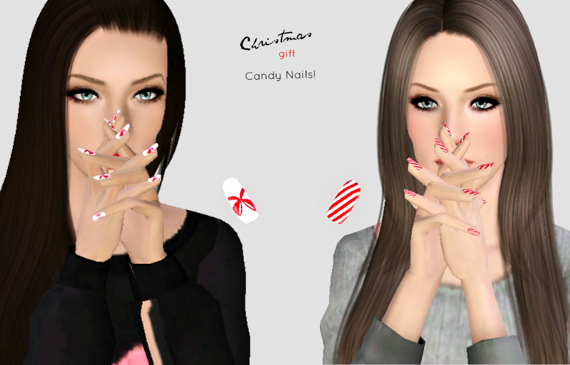 Candy Nails-Christmas gift by Bill Sims