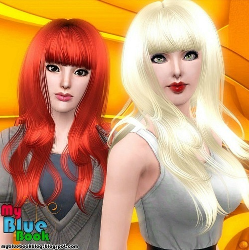 Female Hairstyle Anto 54 Converted by TumTum Simiolino