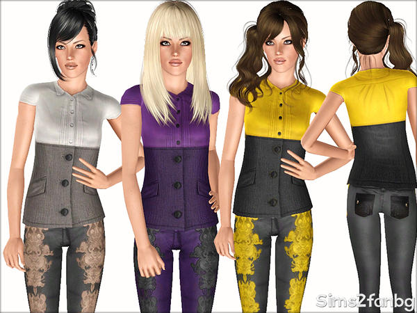 375 - Business set by sims2fanbg