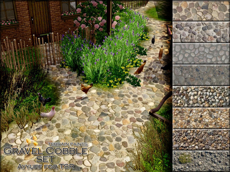 Gravel Cobble Set by ayyuff