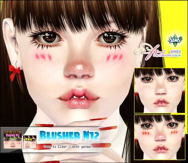 Blusher N12 by Tifa