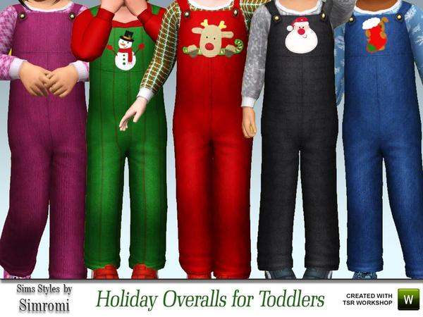 Tis The Season Overalls for Toddlers by simromi