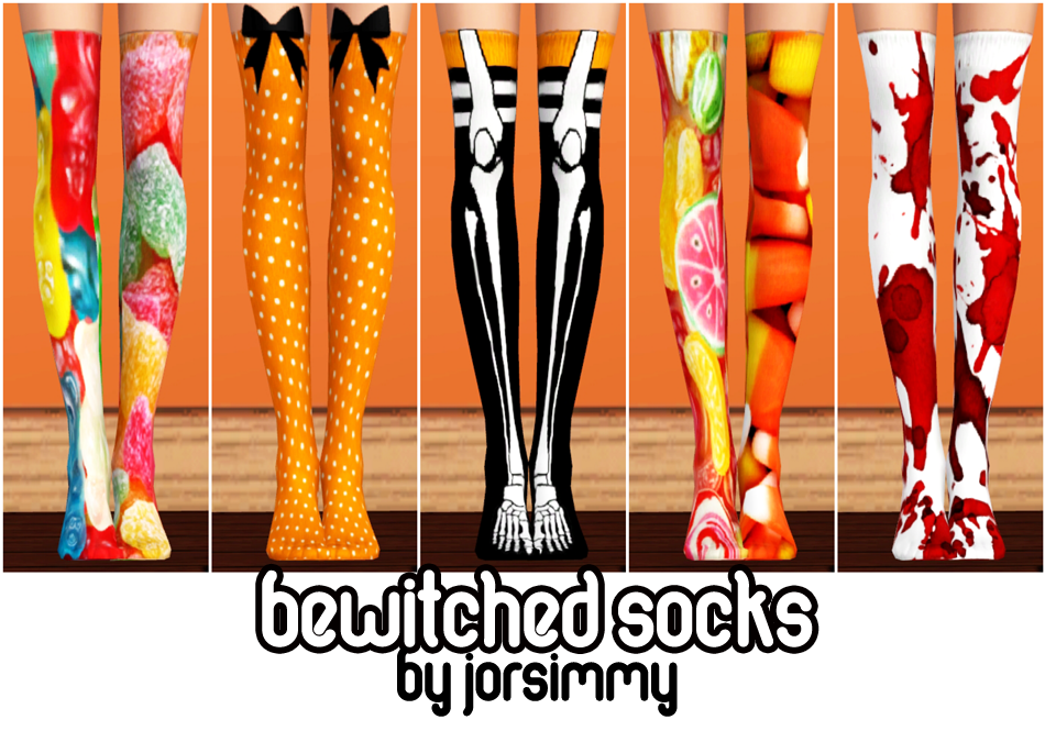 Bewitched Socks by Jorsimmy