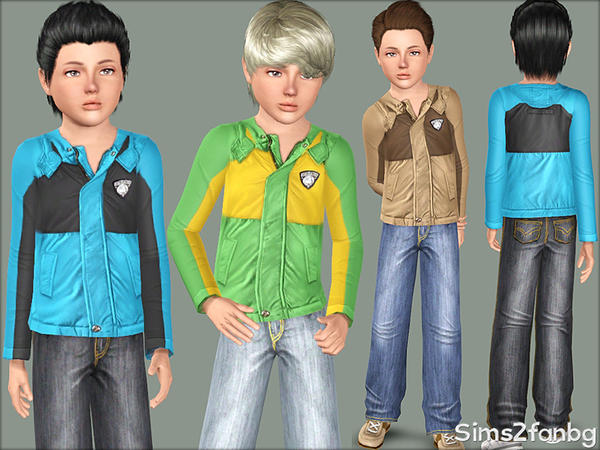 376 - Child male set by sims2fanbg