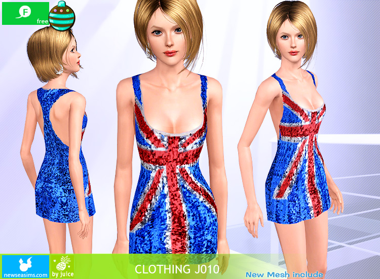 Juice Gliter Dress by Newsea