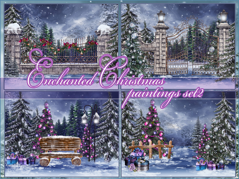 Enchanted Christmas set2 by Torri